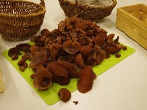 Soooo viele Pilze haben wir gesammelt.